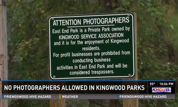 Texas Park Labels Working Photographers as Trespassers