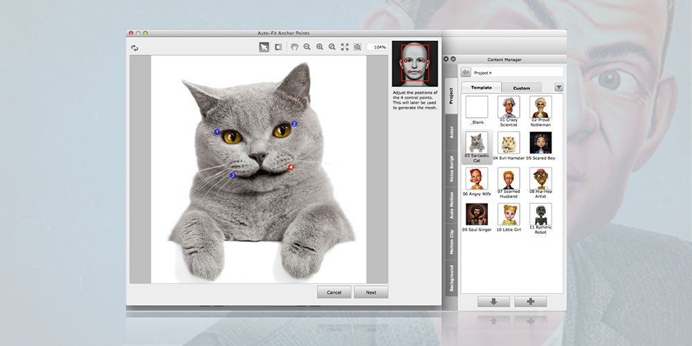 CrazyTalk 8 lets you easily turn any photo into a realistic, talking animation