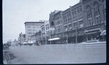 Oklahoma City Time Capsule Reveals Century Old Negatives, Still Inside the Camera