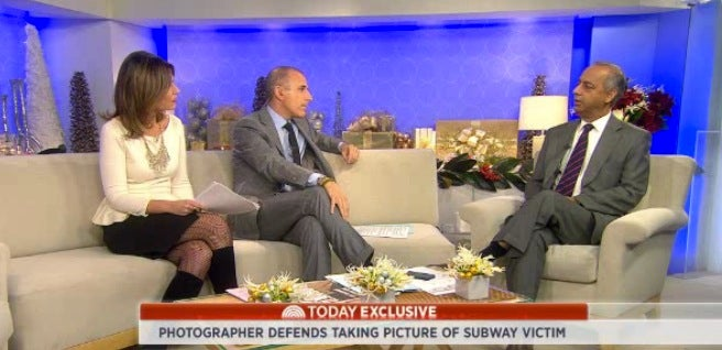 Photographer Of The Infamous New York Post Cover Photo Appears on the Today Show