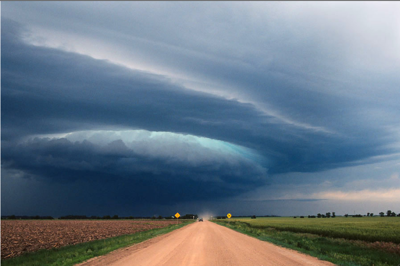 Super Views of Super Cells by Stormchaser Jim Reed