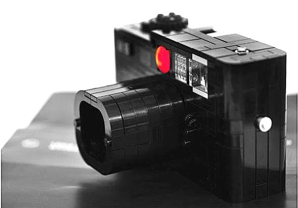 Lego(Leica) Maniac Builds World's First Lego M8…and it Works