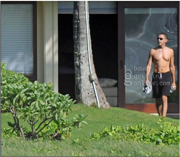 The POTUS, Shirtless and Photoshopped. Let the Arguments Begin!