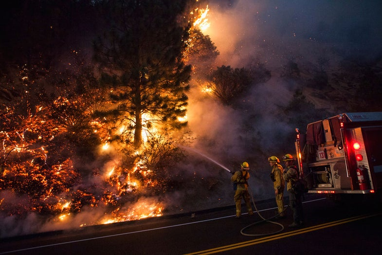 Photo of the Day: Fighting California's Rim Fire