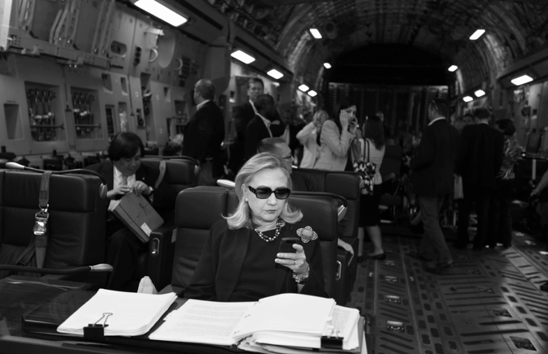 Watch This: Photographer Diana Walker On Her Viral Image of Hillary Clinton