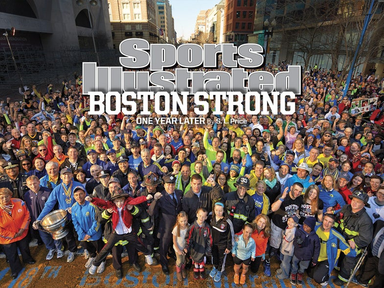 Story of the Shot: Gregory Heisler's Boston Marathon Tribute Cover Photo for Sports Illustrated