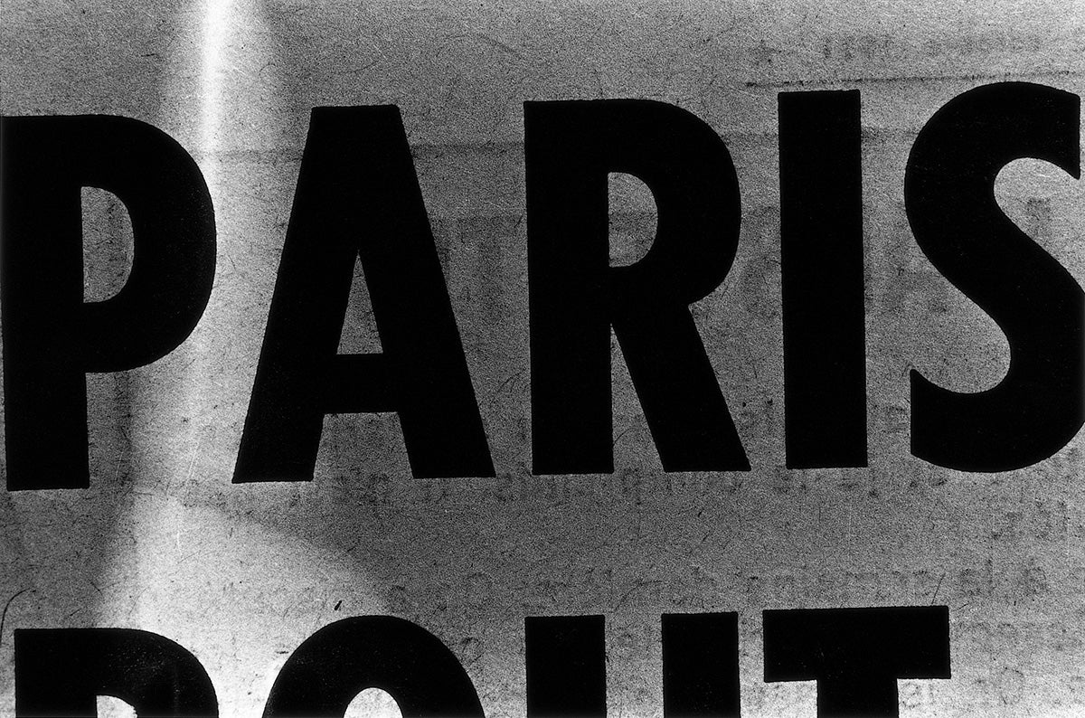 Fragments of 1971 Paris, On View Today in New York