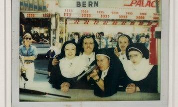Paris Photo: Nuns Shooting Guns, Captured on Polaroid