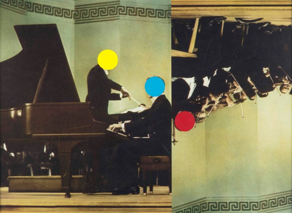 """Conductor/Pianist/Orchestra (Red/Yellow/Blue),"" 1995/2007"