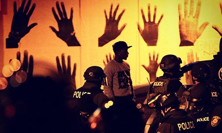 Interview: Nick Oza On The Ground After Ferguson Decision