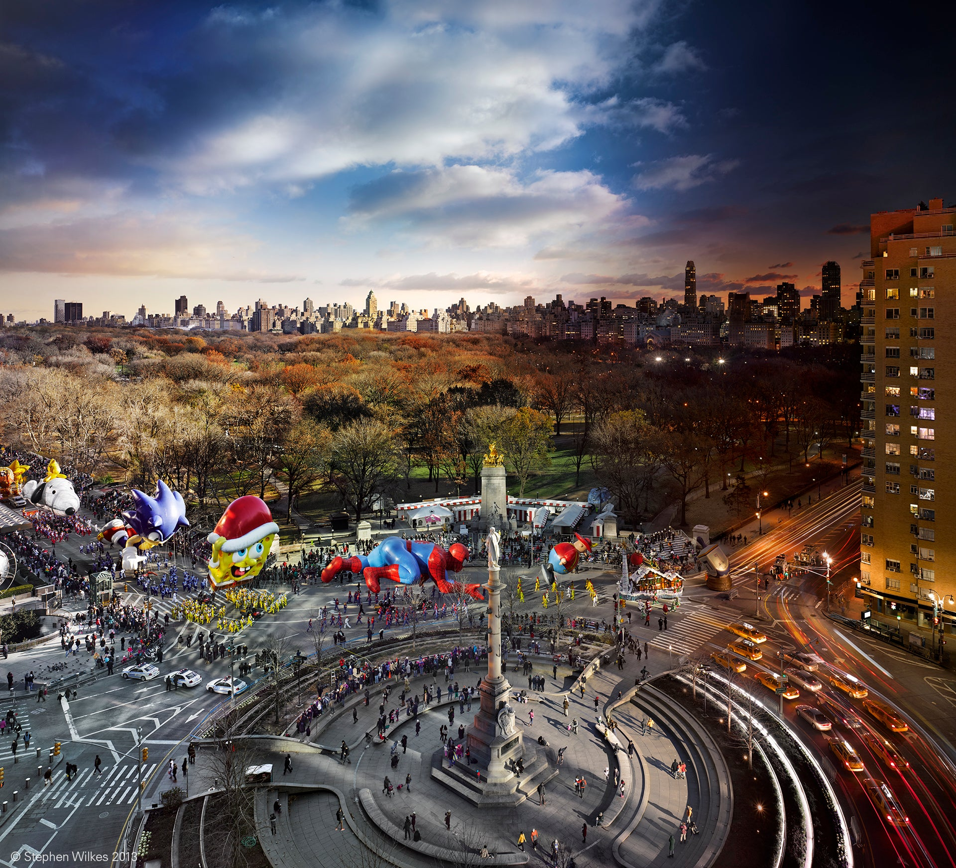 Stunning Time Passages through the Lens of Stephen Wilkes