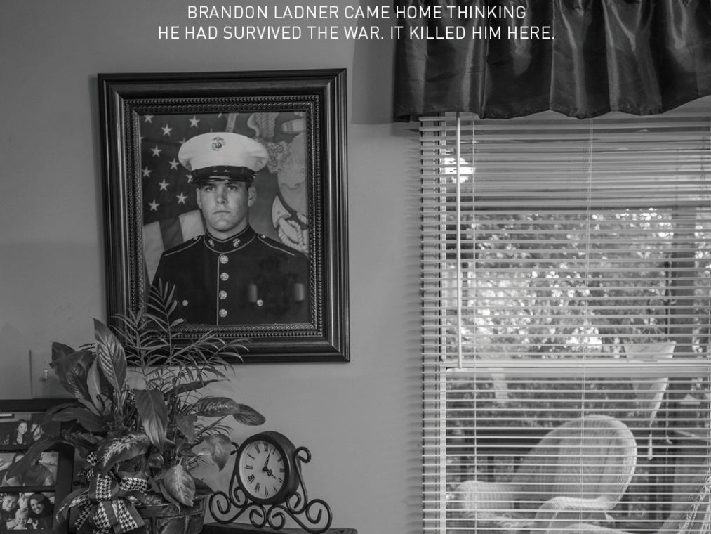 Ad Agency Enlists Photojournalist David Guttenfelder for Campaign on Veteran Suicide