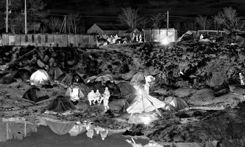 Richard Mosse on Using a Military Grade Camera to Find Signs of Life in Refugee Camps