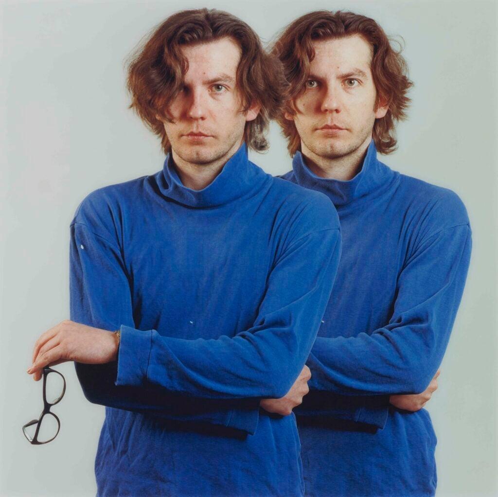 """Portrait (T. Ruff),"" 1991"