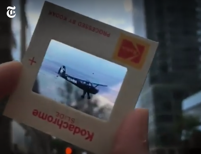 Watch This: A New York Times Reporter Discovers the Photographer Behind a Bag of Discarded Kodachrome Slides