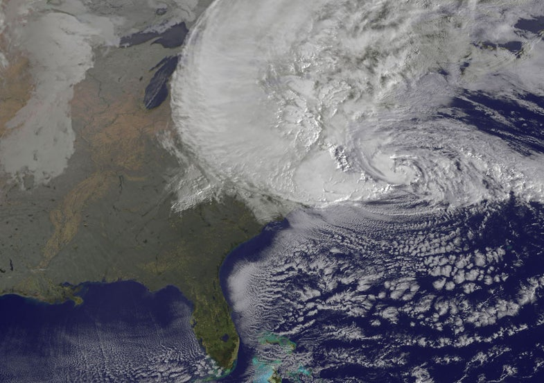 The Two Types Of Hurricane Sandy Photos