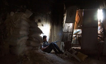 Photo of the Day: A Brief Moment of Syrian Peace