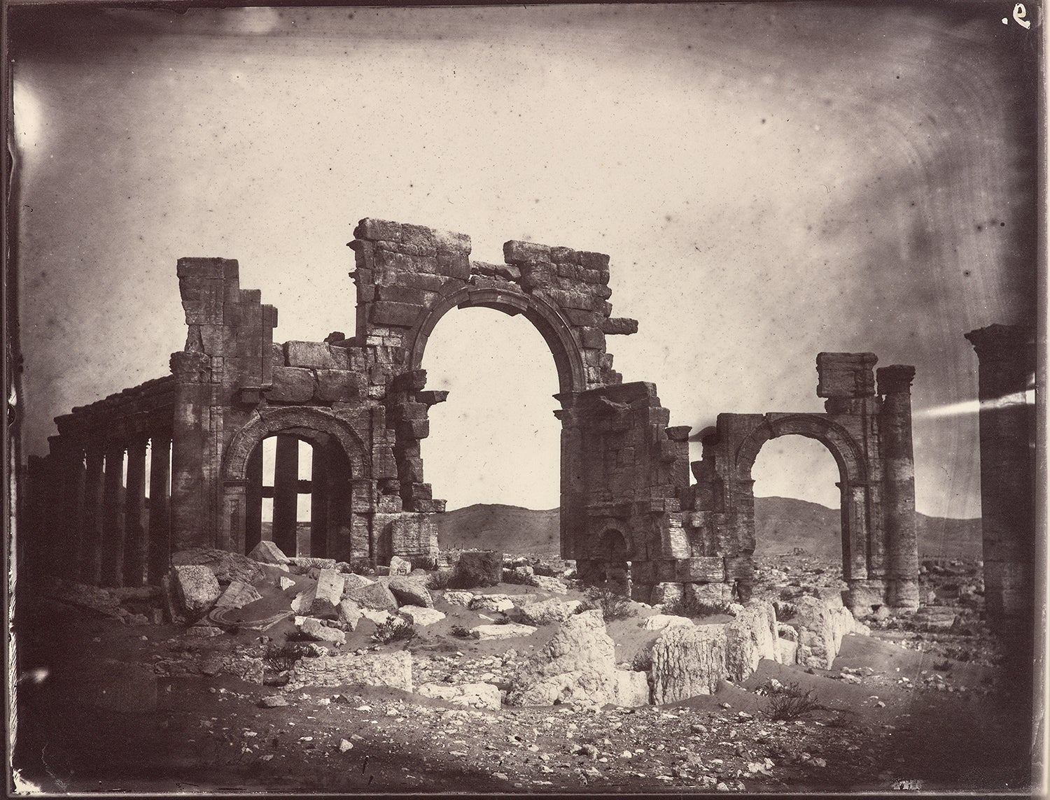The Getty Research Institute Launches an Online Exhibition of Historical Documentation of Palmyra