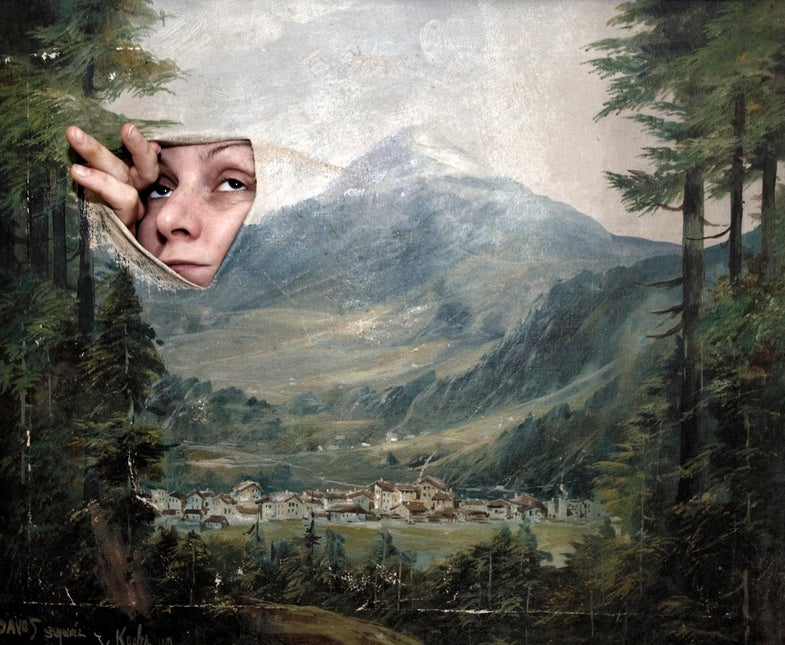 Behind the Notes: Marlies Plank's Woman in the Painting