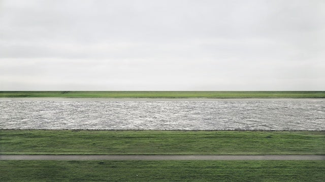 """Andreas Gursky's """"Rhein II"""" Is Now the Most Expensive Photograph in the World"""