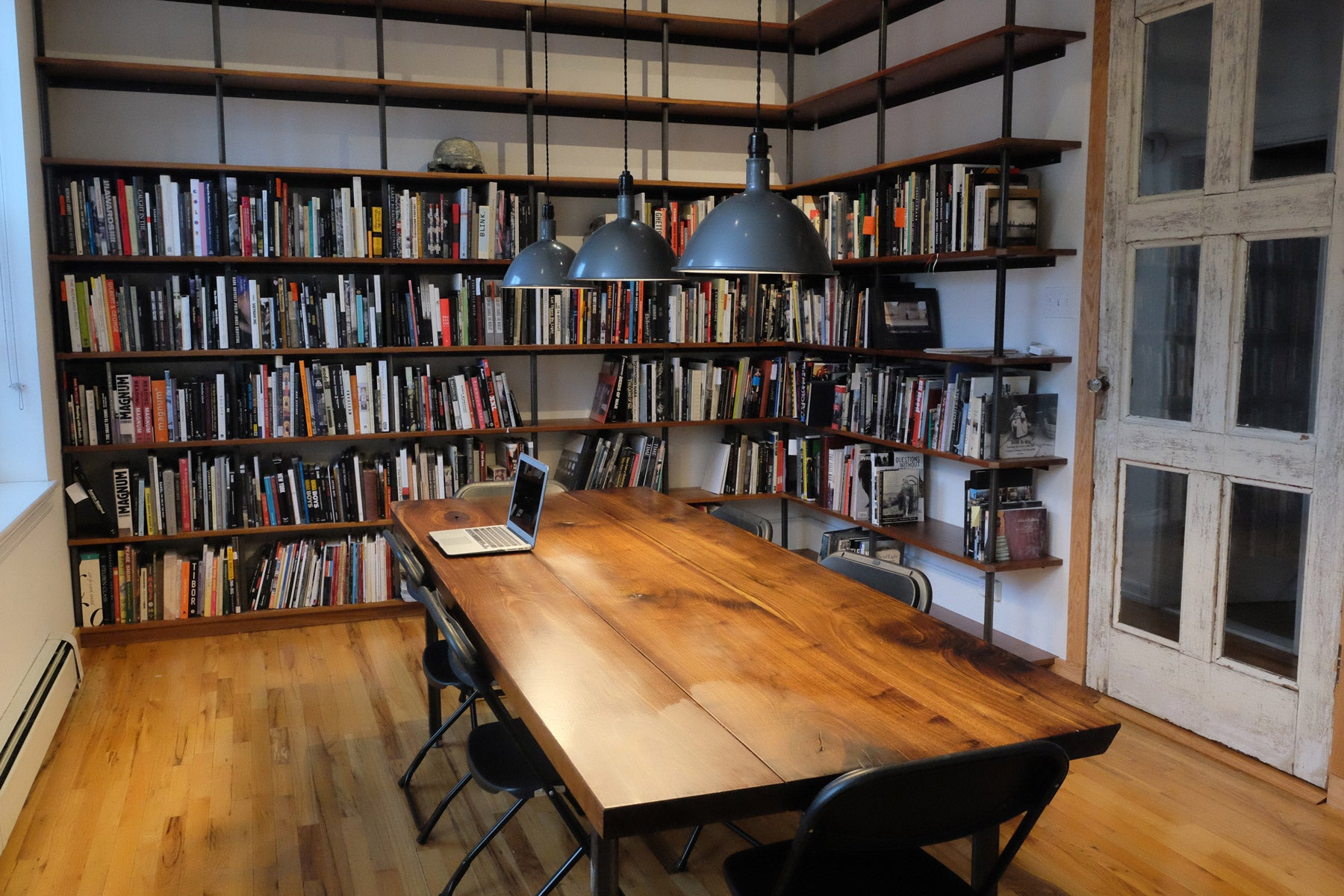 Tim Hetherington Photobook Library Opens at Bronx Documentary Center