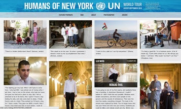Humans of New York Photographer Lands in Jordan
