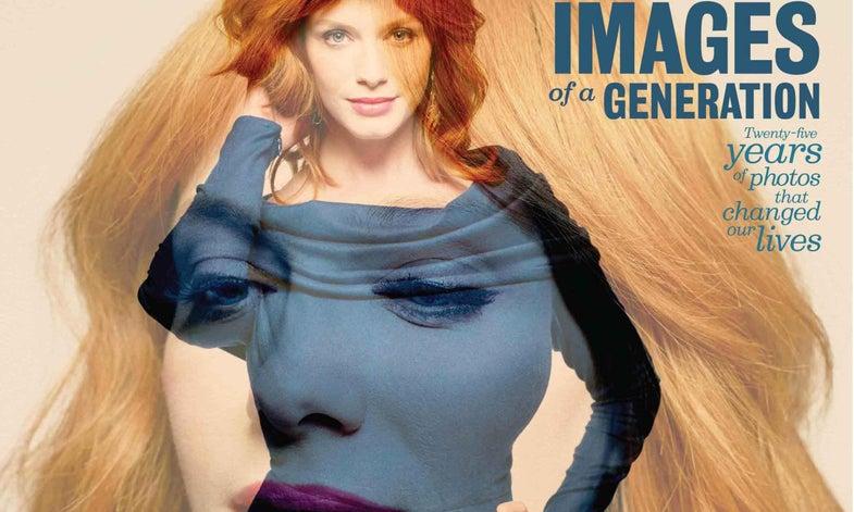 Behind the Cover: Peter Hapak's Double-Exposure Portrait of Christina Hendricks