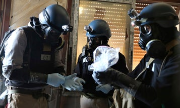 Photo of the Day: On the Ground with UN Chemical Weapons Experts