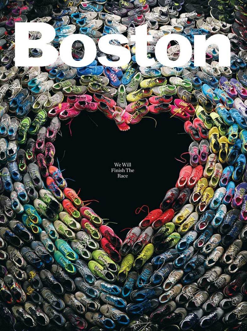 Interview: Mitch Feinberg On His Boston Magazine Marathon Tribute Cover