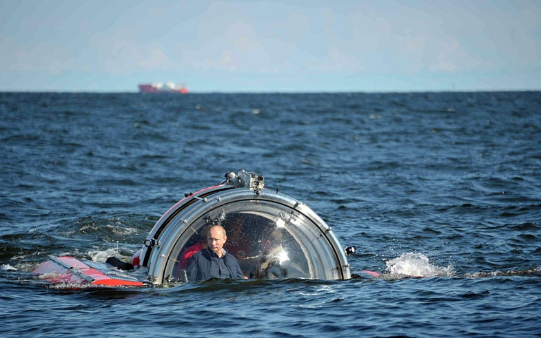 Photo of the Day: Putin's Dive
