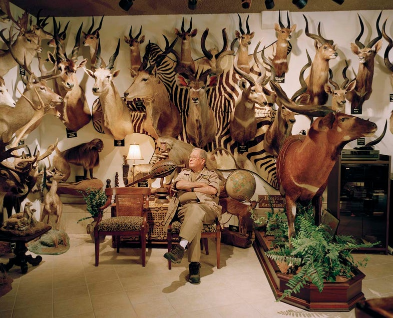 Inside The Trophy Rooms Of Texas's Biggest Big-Game Hunters