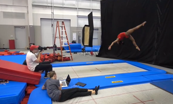 Behind the Scenes: Thomas Prior Shoots Simone Biles for Time
