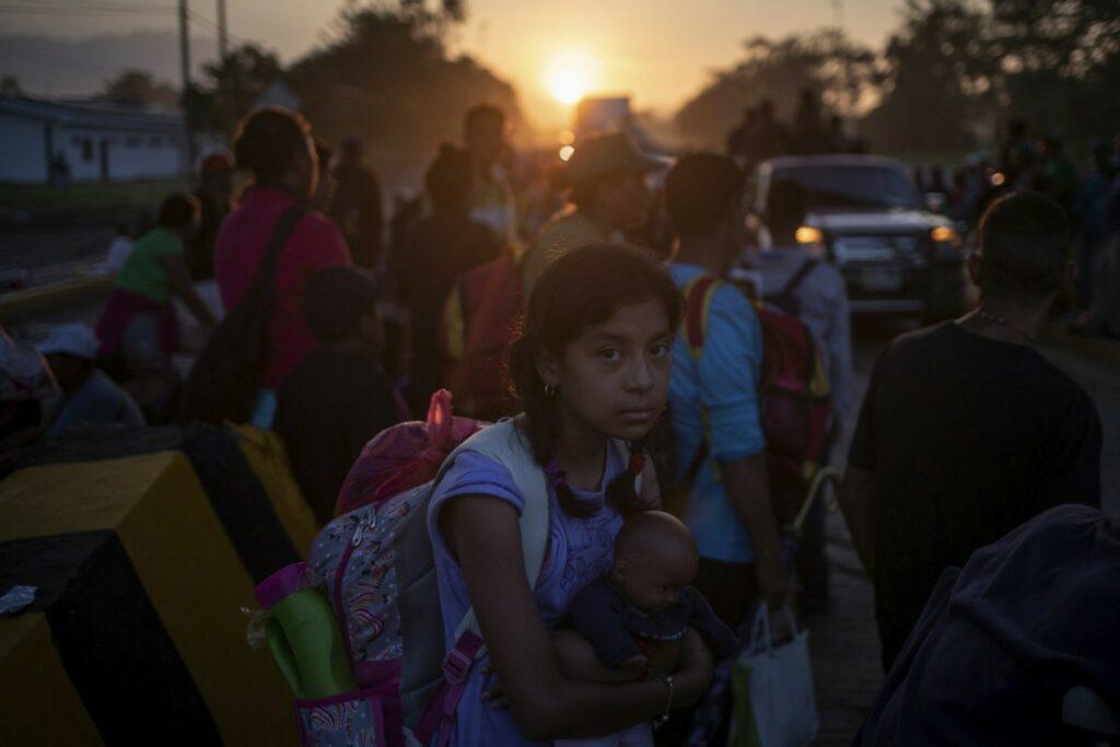 children among migrants