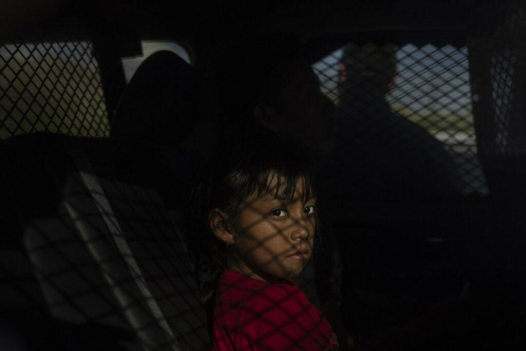 little girl detained