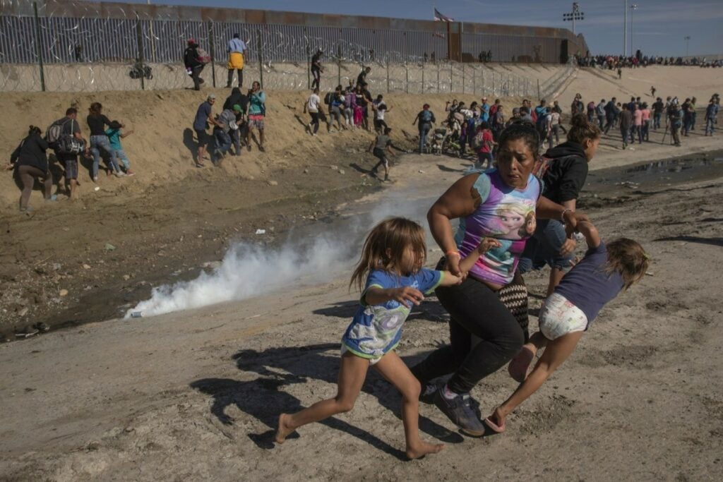 Migrants fleeing