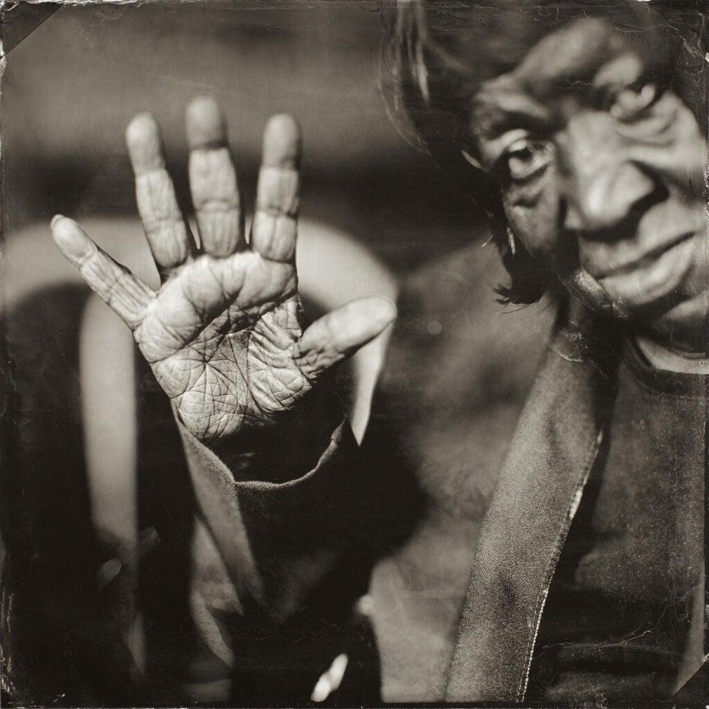 Algia Mae Hinton's Hand