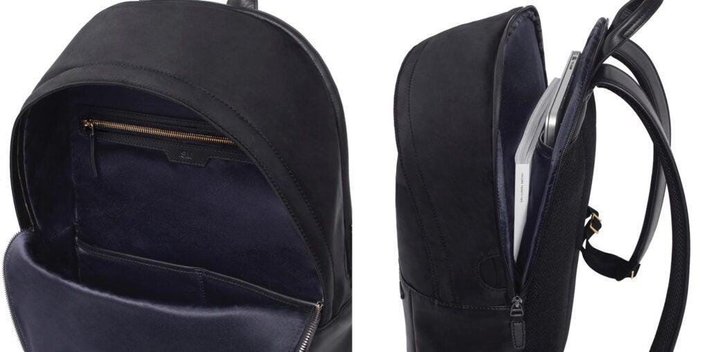 ISM Leather Bag details
