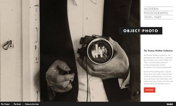MoMA Launches OBJECT:PHOTO, Interactive Photography Conservation Website