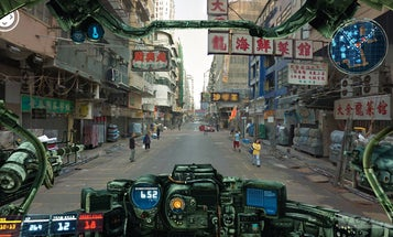 See The World From The Cockpit of a Giant Battle 'Bot, via Street View