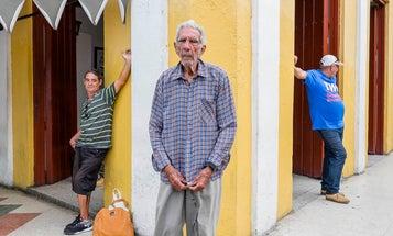 Charlie Kwai's Cuba Street Portraits