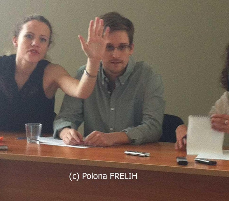 Can Edward Snowden Hide His Face From the Internet?
