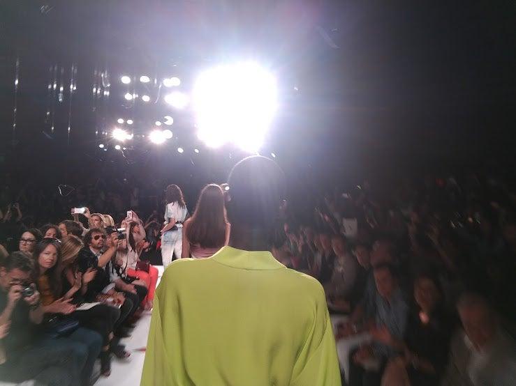 Fashion Week Models Take to the Runway Wearing Google Glass's Ubiquitous Cameras