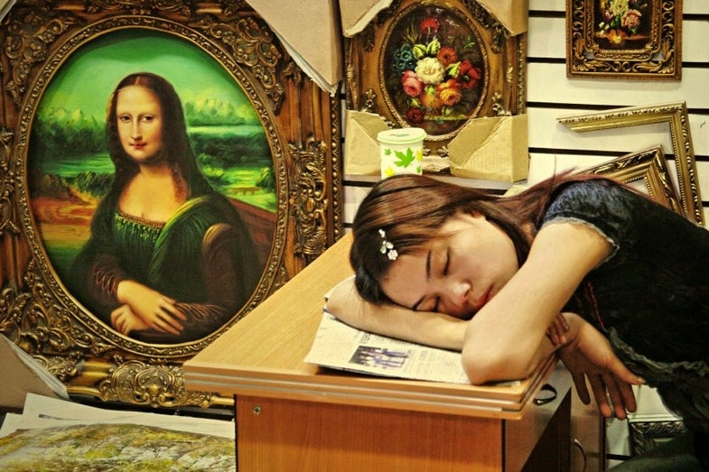 Portraits of China's Skilled Public Sleepers