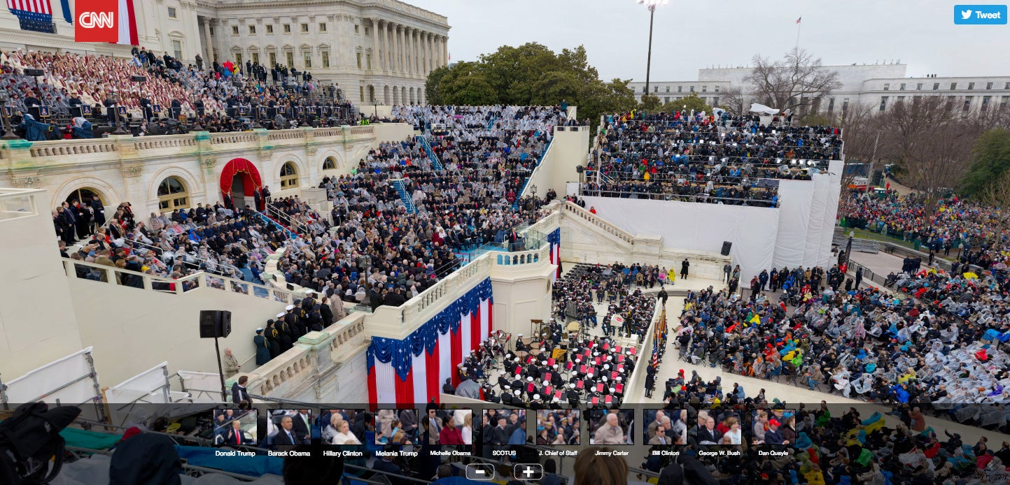 This Massive Gigapixel Photo From The Inauguration Shows Incredible Detail