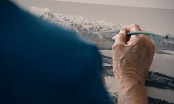 Watch This: Grace Rawson and the Fading Art of Hand-Coloring Black and White Photographs
