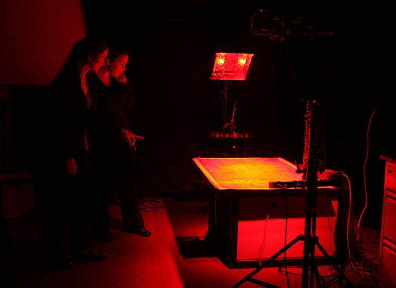 Peeling Back the Hidden Pages of History With Hyperspectral Photography