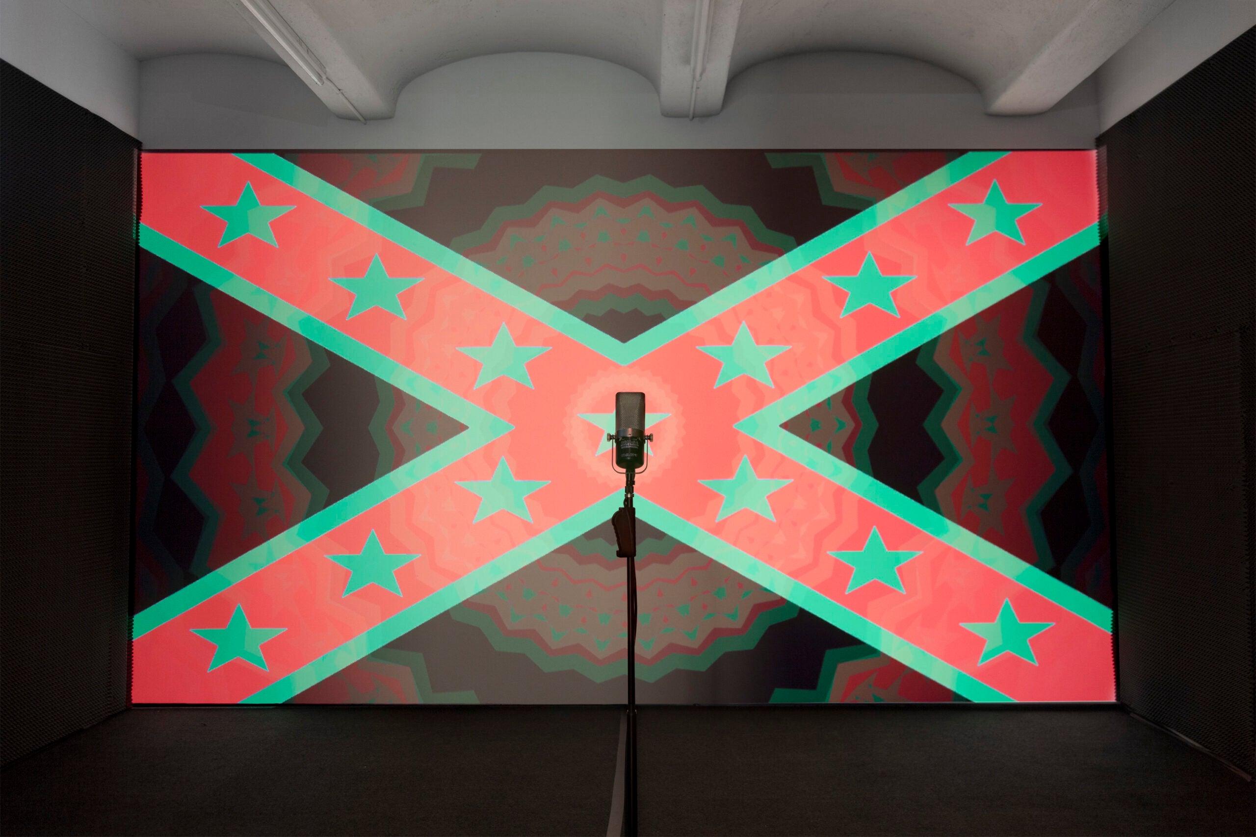 Hank Willis Thomas' Confederate Flag Exhibit and the Disruption of Oppressive Symbolism