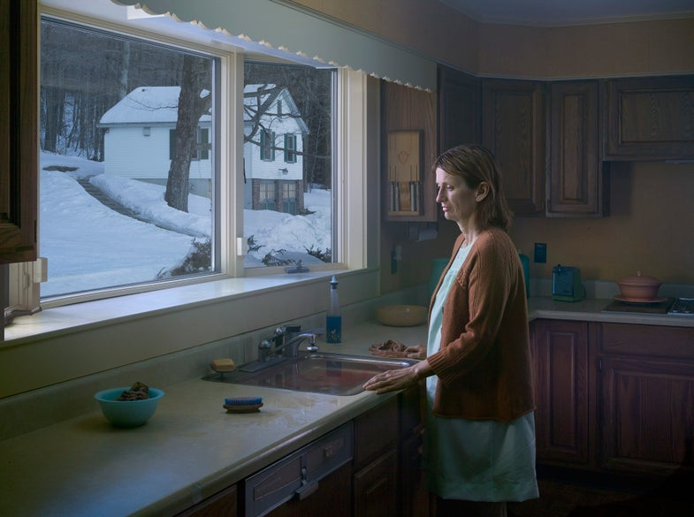 """Gregory Crewdson Searches for Salvation in """"Cathedral of the Pines"""""""