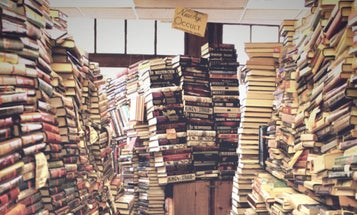 Behind the Notes: Dan Swenson's Cluttered Bookstore