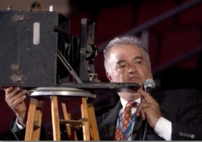 Watch This: Capturing the DNC with a 100 Year Old Camera